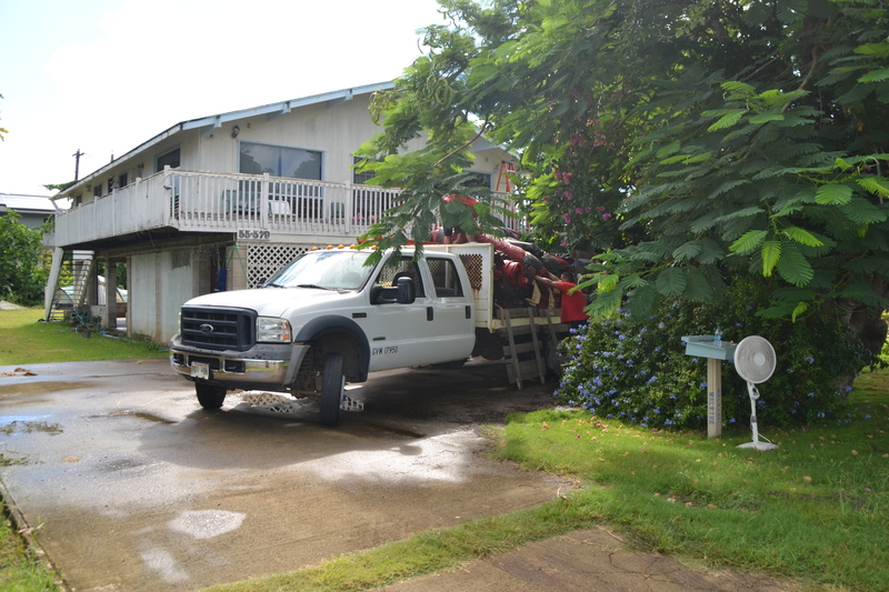 & Sewer Pump Replacement and House Tenting - 16 Sep 2014